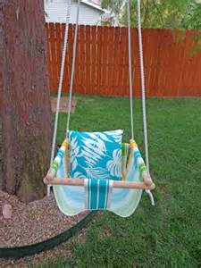 Swing A Baby Diy Tree Swing For A Baby Kidsomania