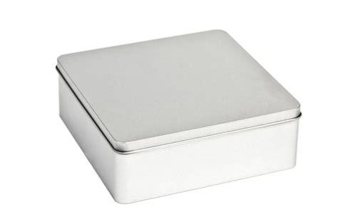 tin box square tin box