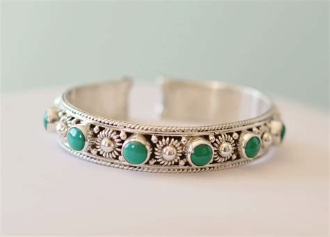 turquoise and sterling silver cuff bracelet honoring