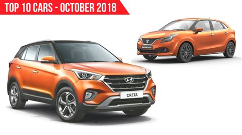 top  selling cars  october   india