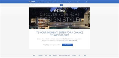 zillow home design sweepstakes zillow home design sweepstakes