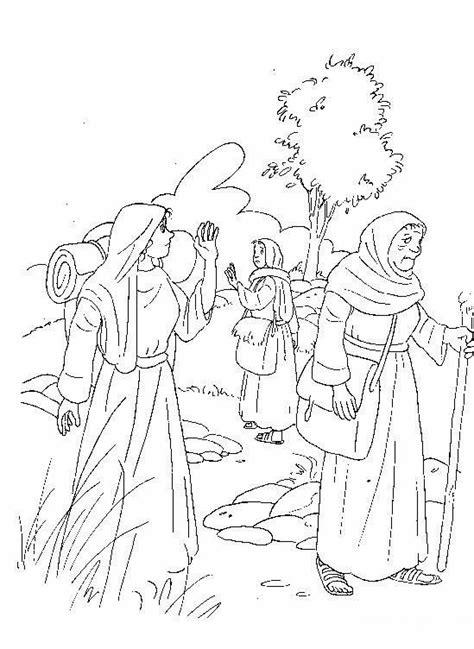 imagenes biblicas de rut el renuevo de jehova rut y noemi imagenes para colorear