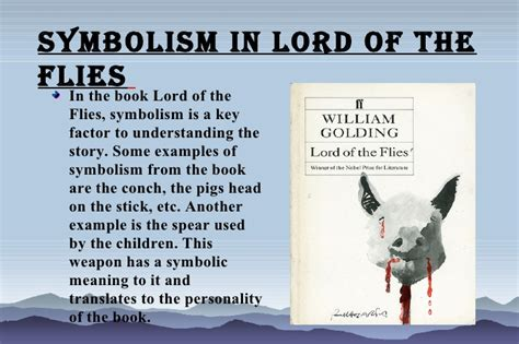 images and symbols in lord of the flies suvo lord of the flies symbolism power point