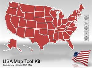 us map clip for powerpoint us map powerpoint template