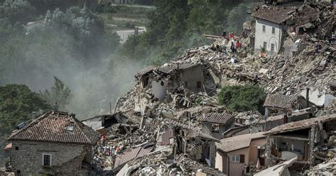 earthquake news italy earthquake described as quot dante s inferno quot kills