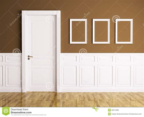 Interior With Door And Frames Royalty Free Stock Image Interior Doors With Frames