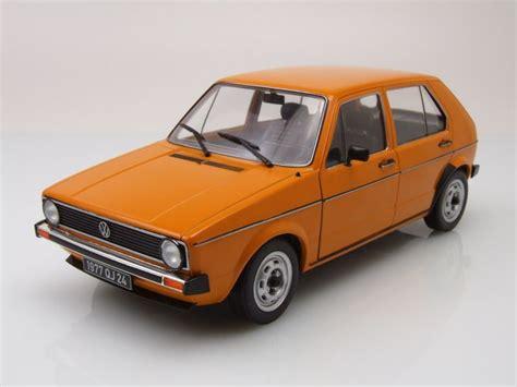 Golf Modellauto by Vw Golf 1 L Orange Modellauto 1 18 Solido