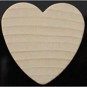 20 coeurs en bois 224 peindre support bois 224 d 233 corer ou 224