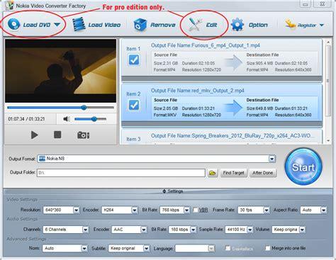 converter factory free nokia video converter factory pro 3 0 ningflakahti