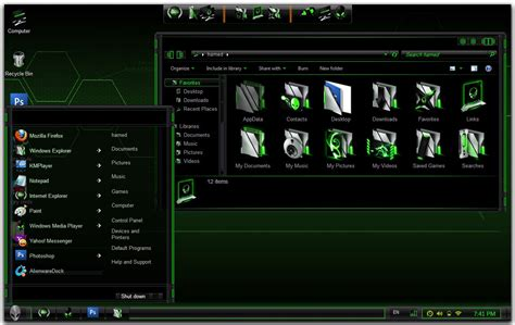 alienware themes for windows 7 green green alienware theme for windows 7 keripik citul