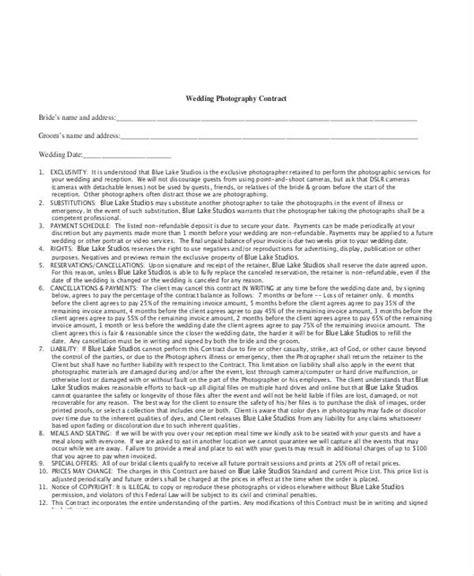 8 photography invoice exles sles