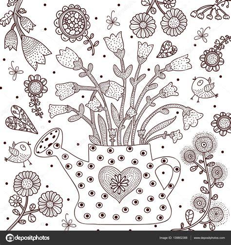 disegno giardino giardino colorare idee per interni e mobili