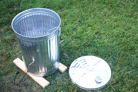 metal trash can pit bbq concepts