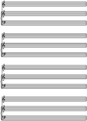 Free Printable Sheet For Voice And Piano