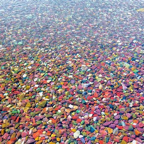 lake mcdonald montana colored rocks the colored pebbles of lake mcdonald amusing planet