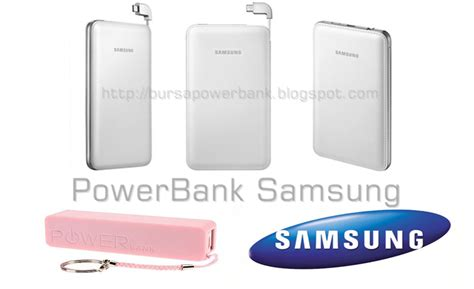 Power Bank Merk Samsung daftar harga power bank samsung update 2015 bursa