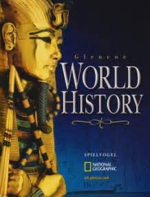 History Book Glencoe World History Textbook Glencoe World History