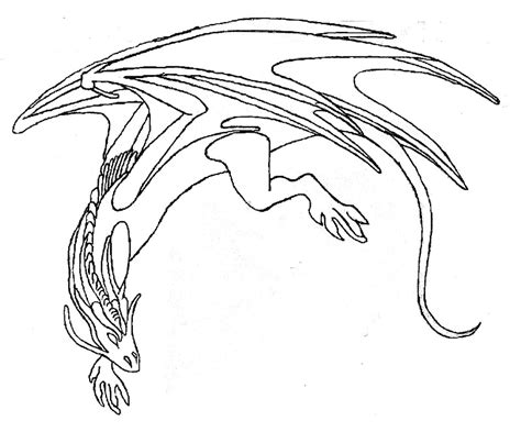simple dragon coloring page simple dragon outline az coloring pages