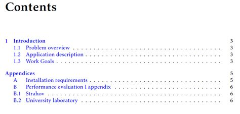 appendices adding appendix to table of contents using wuthesis