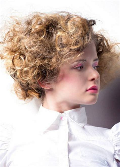 pictures best short haircuts for round faces curly bob