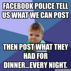 Meme Pictures For Facebook - facebook police meme memes