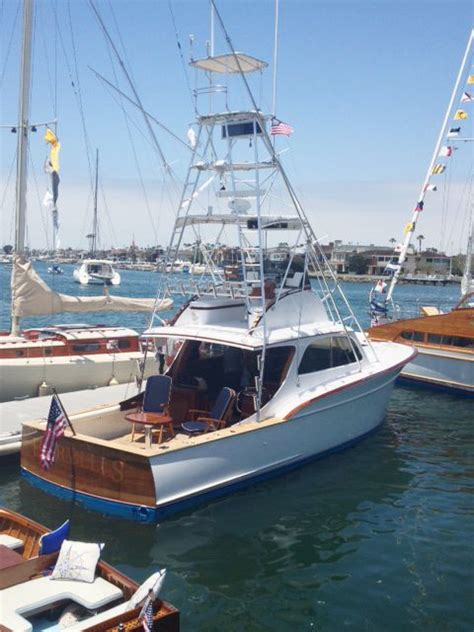 used fishing boat auctions rybovich sportfisher 36 1954 classic wooden boats