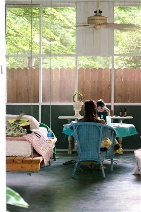 sleeping swing dishfunctional designs this ain t yer grandma s porch