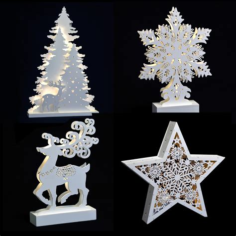 christmas light up room decoration battery operated led