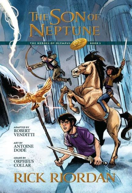 amazon com rick riordan books biography blog the son of neptune the graphic novel heroes of olympus