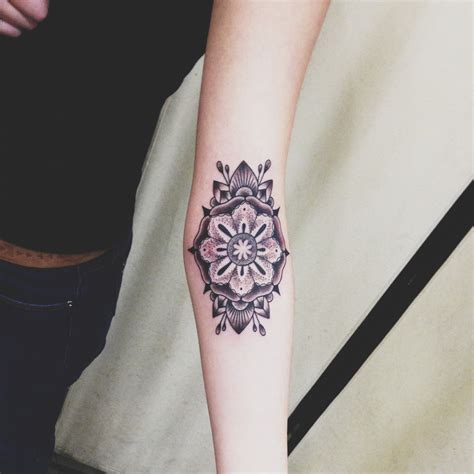 tattoo flower forearm 40 mandala tattoos on forearm