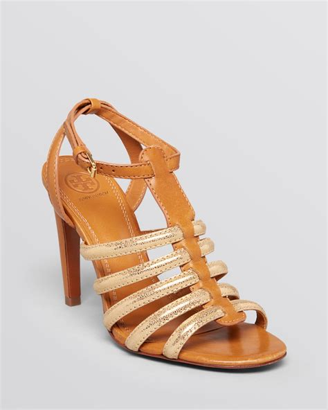 burch gladiator sandals burch open toe gladiator sandals charlene high heel