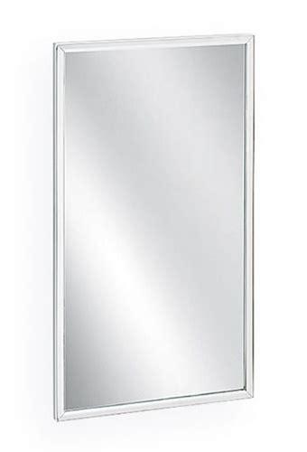 bradley 781 2436 channel frame mirror 24 quot x 36 quot bradley 781 18 x 30 quot channel frame mirror
