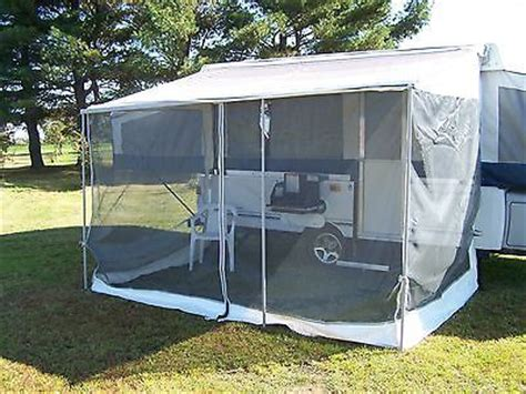 coleman screen room 1000 ideas about fleetwood cers on hauler cer travel trailers for sale