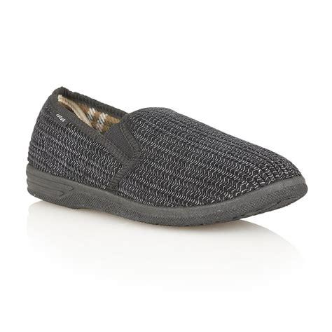 corduroy slippers buy lotus men s bevis black slippers