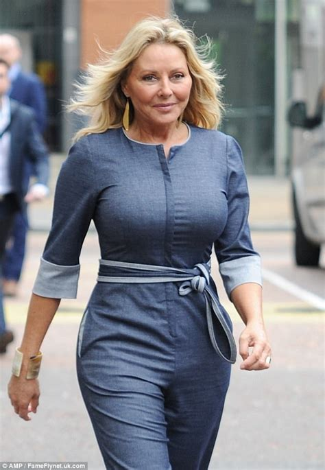 carol vorderman  emotional tv appearance daily mail