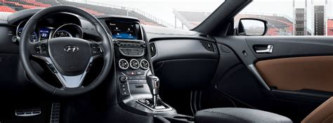 Hyundai Genesis Coupe Interior differences in the 2016 hyundai genesis coupe trims