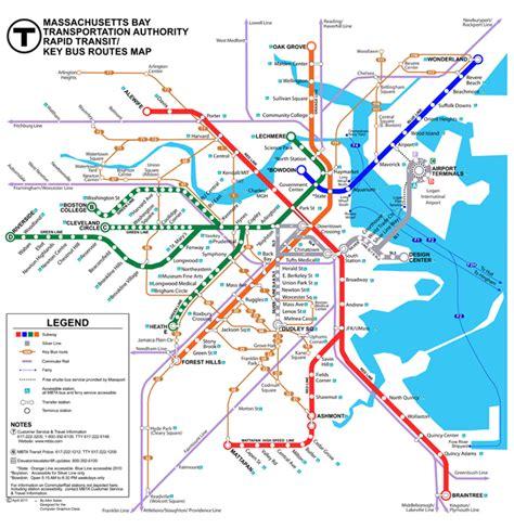 boston map subway boston subway map travel map travelquaz