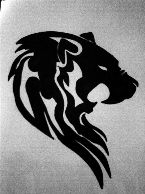 meaning of lion tattoo tribal designs and meaning
