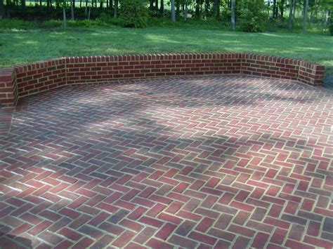 brick patios walkways american exteriors masonry