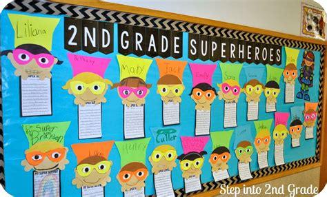 theme board names superhero bulletin board display classroom crafts