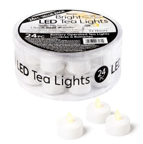 battery tea lights bulk bulk flickering flameless tea lights items