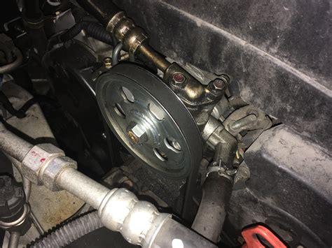 identifying source  power steering leak honda tech honda forum discussion
