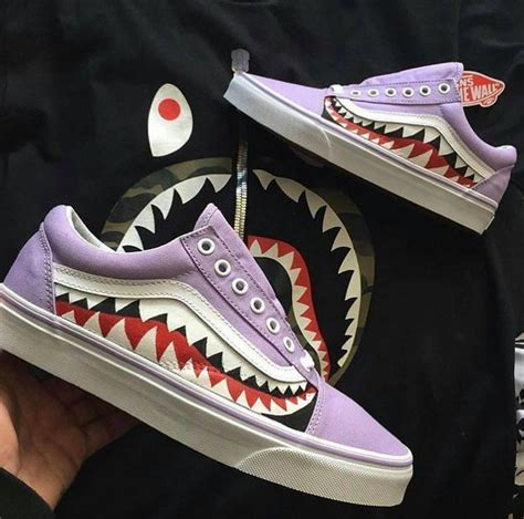 customized shoes bape x vans s shoes bape vans and