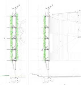 Vertical Garden Section Vertical Garden Cad Green Wall 800x1200 Details Detail