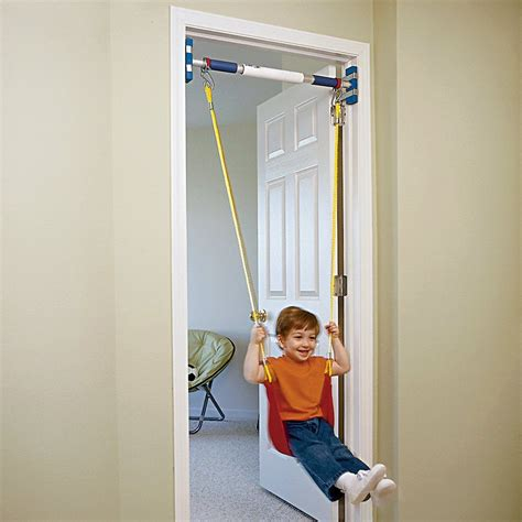 doorway swing keep kids entertained with this indoor rainy day swing