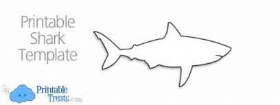 printable shark cut outs printable treats com
