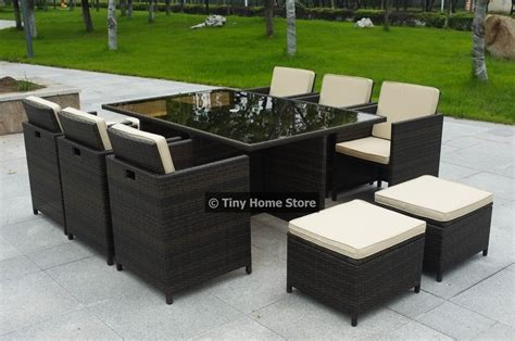 Ebay Patio Furniture Sets New Cube Rattan Dining Set Garden Furniture Patio Conservatory Wicker Outdoor Ebay