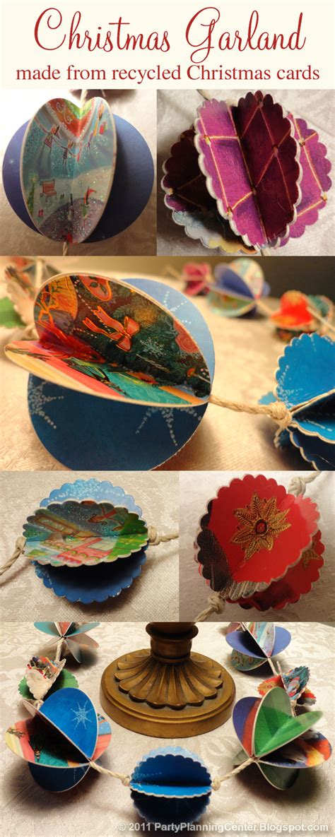 christmas decor recycled paper planning center how to make recycled paper decorations