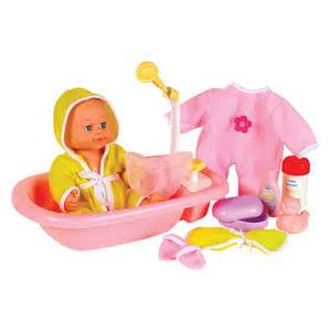 small world toys all about baby bath time 12 in