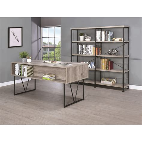 value city furniture desks coaster desk with four drawers value city furniture